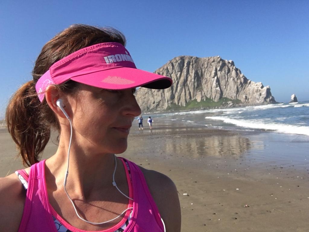Lite härlig löpning fick jag till under vår resa i Kalifornien, men mest av allt såg jag till att tänka på något annat än triathlon.