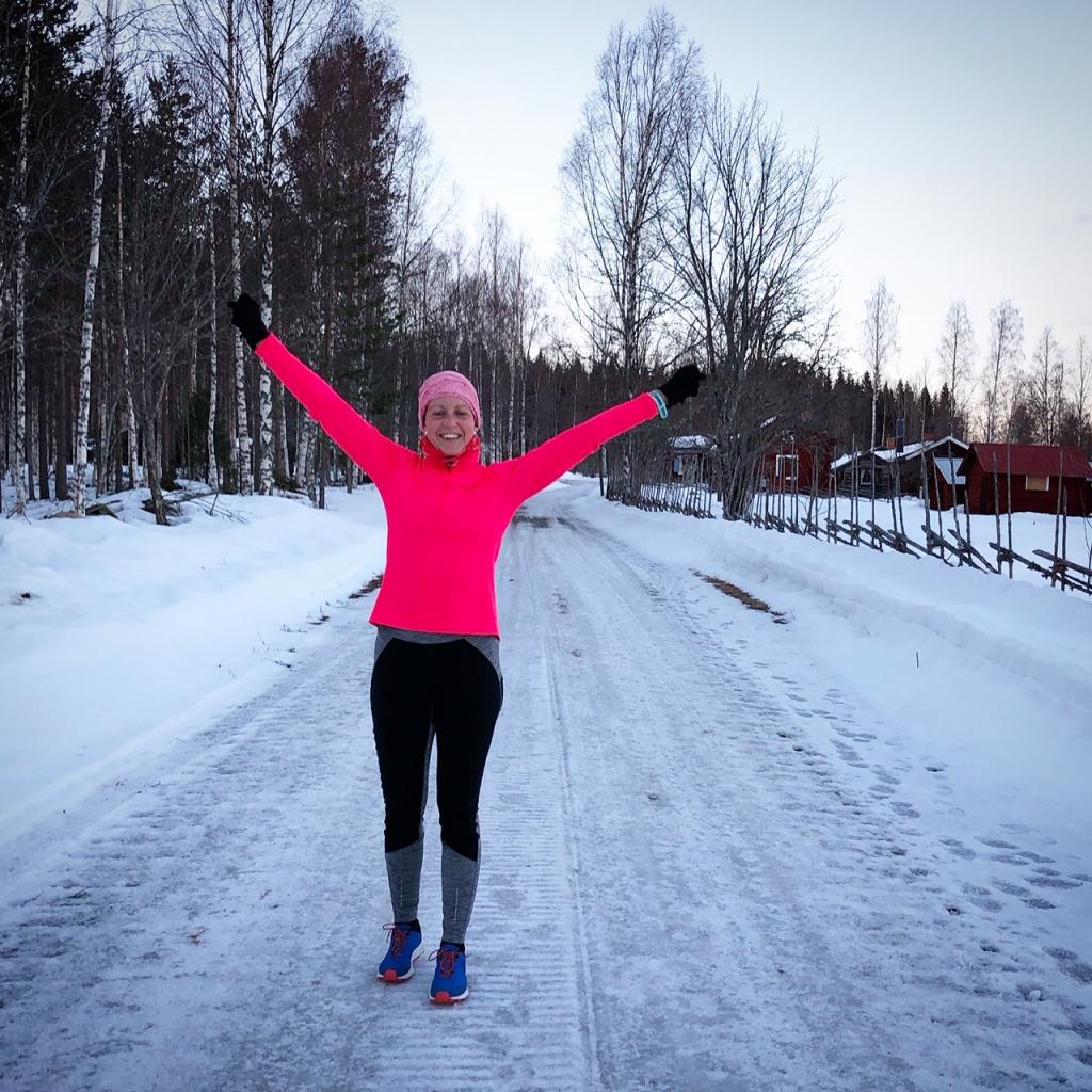 Härlig känsla att bärga hem 40 km löpning en lördag i skogen.