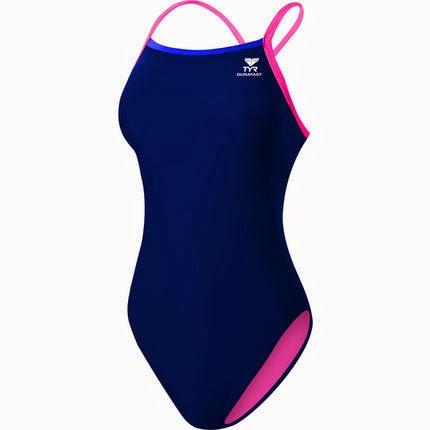 tyr_ladies-durafast-lite-solid-brites-swimsuit-navy-blue-pink-front_SS14